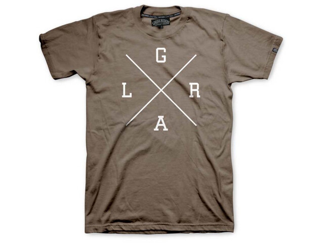 Loose Riders Lifestyle Camiseta Hombre, marrón